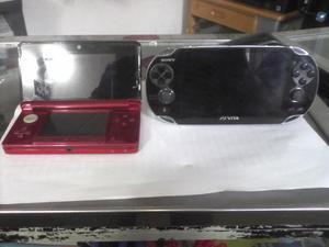 Psvita Sony, Memoria De 16 Gb Y Un Juego. 3ds