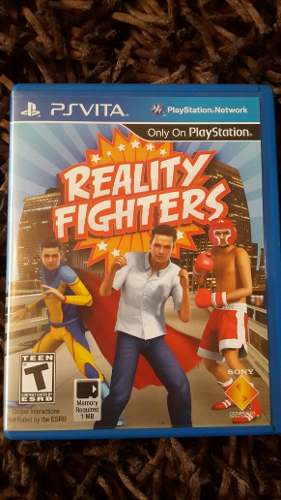 Reality Fitghters Psvita