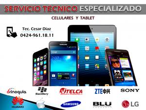 Servicio técnico Especializado de Teléfonos Celulares Y PC