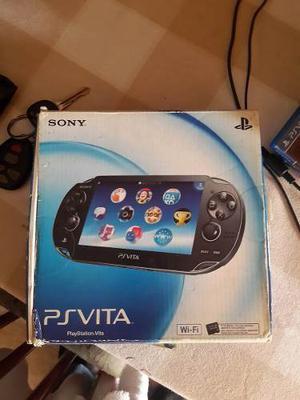 Vendo O Cambio Ps Vita Con 8 Juegos Originales + Memoria 8gb