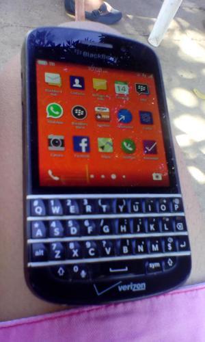 blackberry Q10 movilnet H con play store