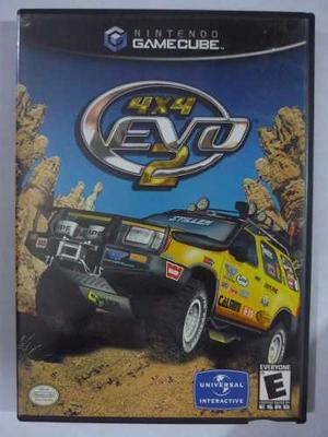 4x4 Evo 2 Para Gamecube Original Usado En Perfecto Estado