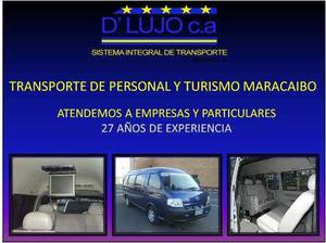 Alquiler De Vans Maracacibo Transporte Ejecutivo Turismo
