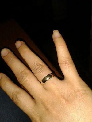 Aros De Matrimonio,bodas,compromiso En Bronce Dorado