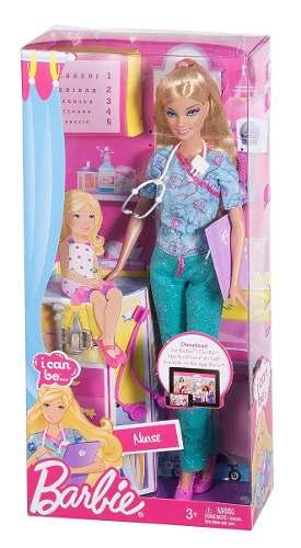 Barbie Quiero Ser Enfermera Con Accesorios Medicos