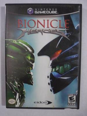 Bionicle Heroes Gamecube Original Usado En Perfecto Estado