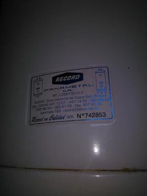 Calentador de Agua Record.