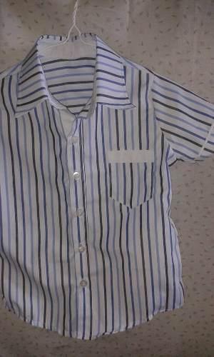Camisa De Niños T 2, 4, 6, 8