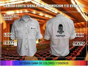 Camisas De Promocion Servicio Franelas Fabrica Uniformes