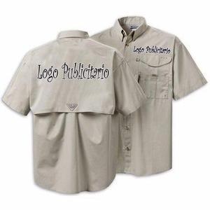 Camisas Tipo Columbia, Para Uniformes.