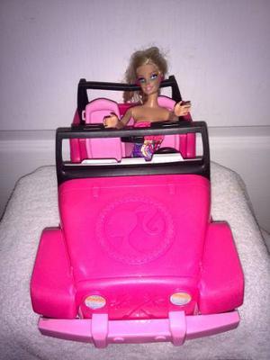 Carro Barbie Con Muñeca Barbie Oferta