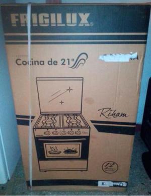 Cocina frigilux 4 hornillas nueva de paquete posot class for Cocina 06 hornillas