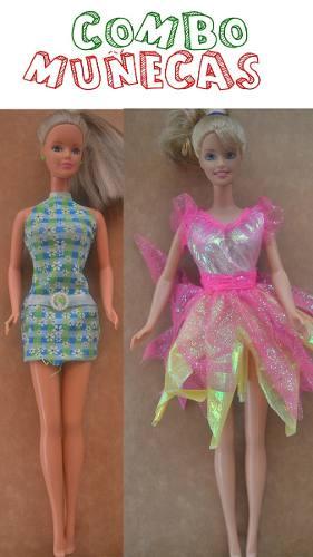 Combo De Muñecas Barbie