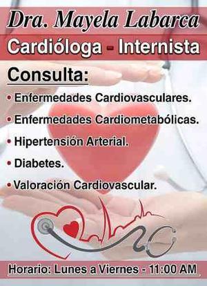 Consulta De Cardiologia Y Medicina Interna