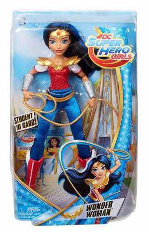 Dc Super Hero Girls Mujer Maravilla 100% Original Mattel