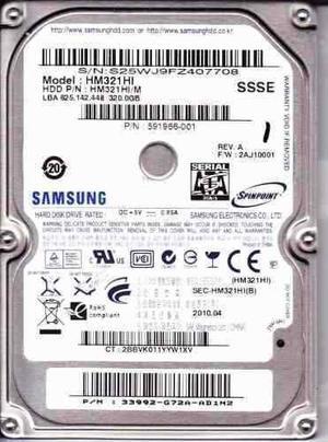 Disco Duro Samsumg 320 Gb Para Laptop, Consola, Xbox