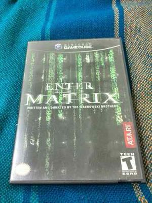 Enter The Matrix Para Nintendo Gamecube