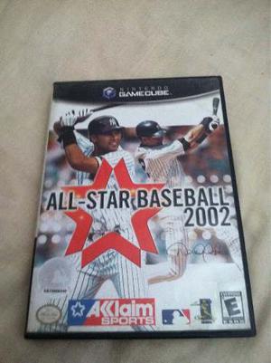 Juego All-star Baseball  Para Nintendo Game Cube