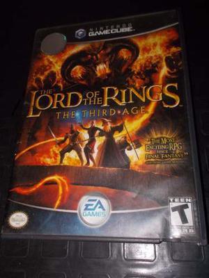 Juego De Gamecube Original El Señor De Los Anillos 2 Cds