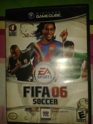 Juego Para Nintendo Gamecube Fifa 06 Compatible Con Wii