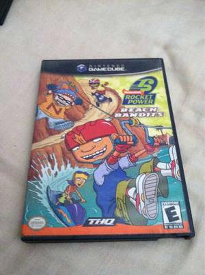 Juego Rocket Power Beach Bandits Para Nintendo Game Cube