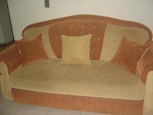 Muebles de sala 3 piezas 2 mesitas 3 cojines posot class for Muebles de sala 3 piezas