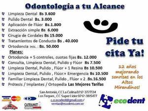 Limpiezas Dentales Bs 3.600