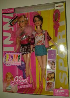 Lindas Muñecas Ginni 100 % Fashion Con Accesorios !!!