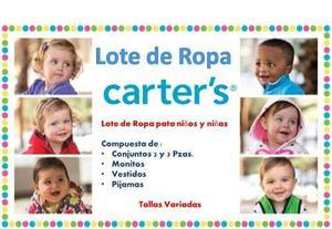 Lote De Ropa Carters Para Niñas Y Niños