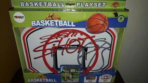 Mini Cancha De Basketball De Facil Instalación Marca Yearly