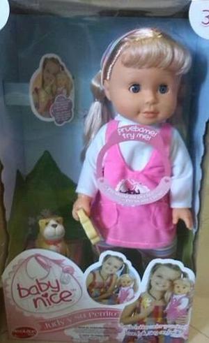 Muñecas Baby Nice Judith Y Su Perrito