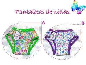 Pantaletas De Niñas