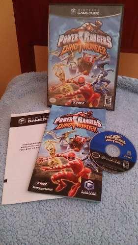 Power Rangers Dinothunder Gamecube, Wii! Oferta Para Navidad