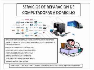 Reparacion De Computadoras Ledezma Rangel F.p 2016
