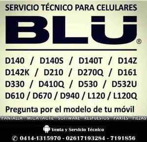 Servicio Cambio De Micas Tactil Y Lcd Para Tu Blu