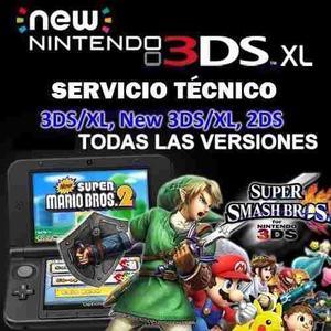 Servicio Para 3dsxl New 3dsxl 2ds Todas Las Versiones