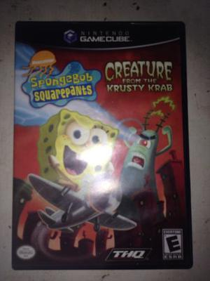 Spongebob Squarepants Nintendo Gamecube