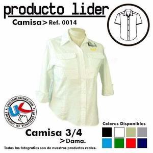 Uniformes Camisas Tipo Columbia Incluye Bordado