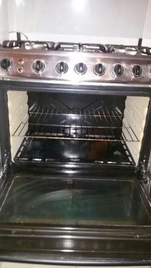 Cocina frigilux de 6 hornillas usada posot class for Cocina 06 hornillas