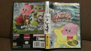 (ojo Sin Juego!!) Estuche De Kirby Air Ride Gamecube
