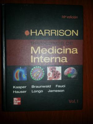 Libros Harrison de Medicina Interna
