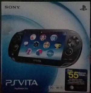 Playstation Vita Sony Original 3g/wifi
