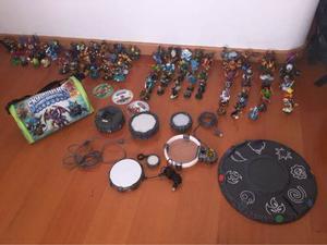 93 Figuras Skylanders Y 3 Portales