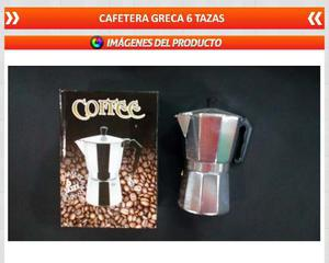 Cafetera Greca 6 Tazas Envio Gratissss