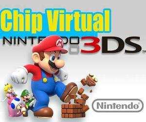 Chip Virtual Para 2ds/3ds-old/new Todas Las Versiones.