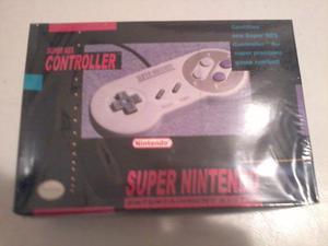 Controles De Super Nintendo Nuevos Y Sellados 2 En Una Caja