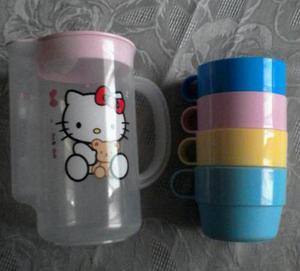 Juego De Jarra De Hello Kitty