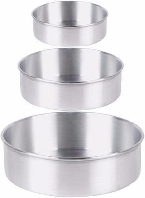 Juego De Torteras De Aluminio 5 Piezas
