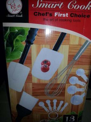 Juego Repostero Smart Cook 13 Piezas Oferta Dia De Las Madre