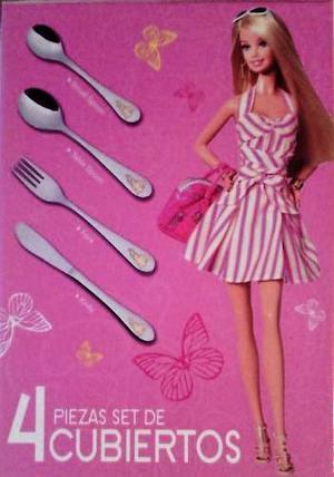 Juegos De Cubiertos Para Niñas: Barbie, Fresita, Princesa.